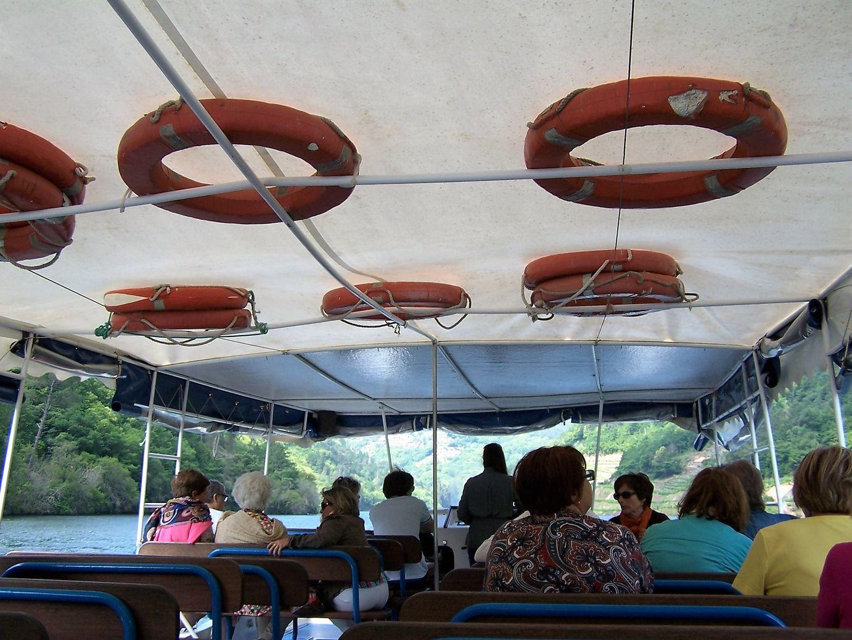En el catamarán