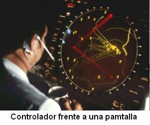 Controlador frente a una pantalla