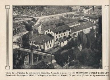 Fabrica Geronimo Gomez Rodulfo