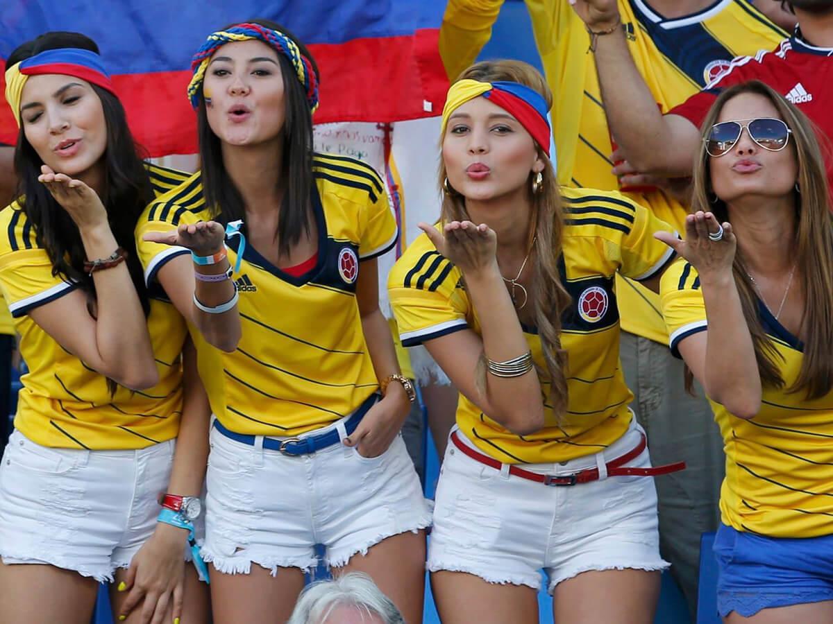 Colombianas con nombre europeo