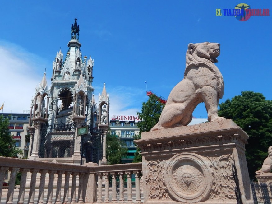 Monumento de Brunswick en Ginebra