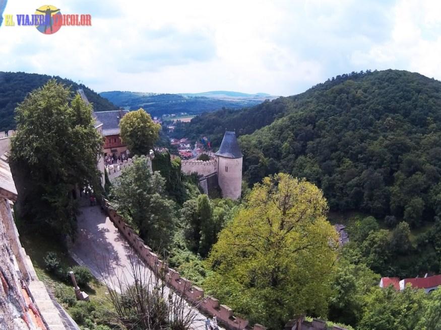 Vista desde el Castillo de Karlstein