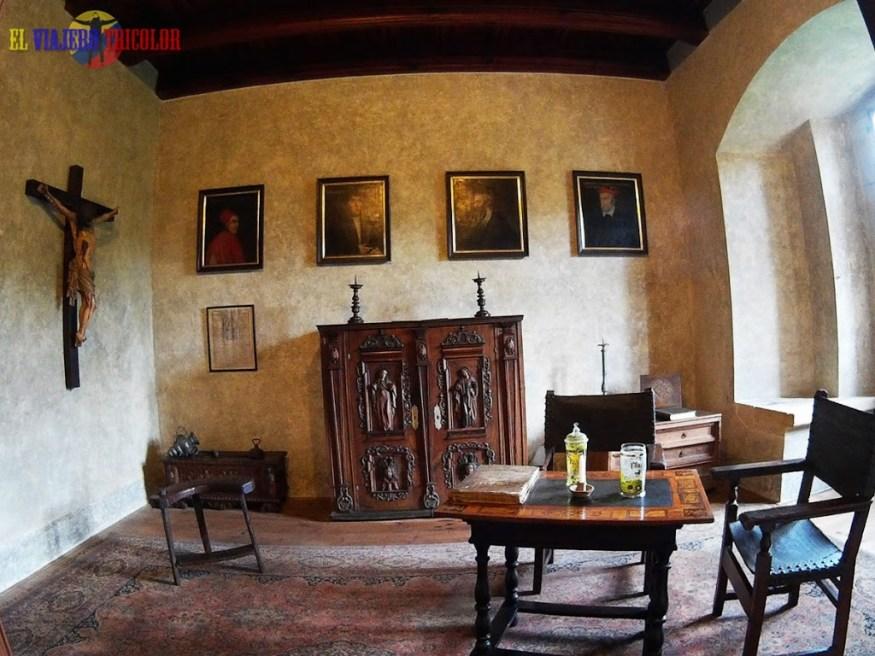 Interior del Castillo de Karlstein