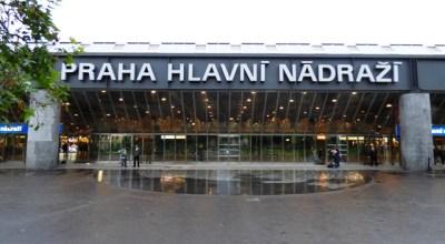 Hlavni nadrazi - Estación principal de trenes en Praga