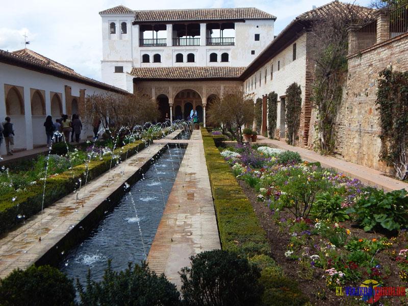 Generalife en la Alhambra
