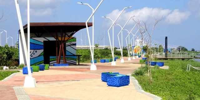Malecón de la Avenida del Río Leon Caridi - Barranquilla