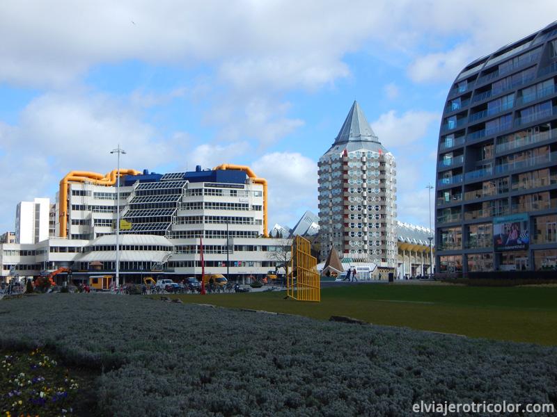 Torre Lápiz en Rotterdam