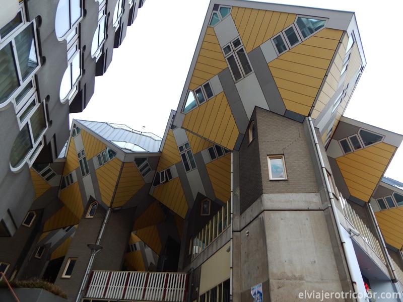 Kubuswoning en Rotterdam