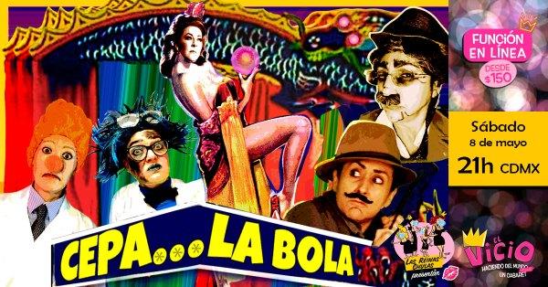 Evento Cepa La Bola en Facebook: 8 de mayo
