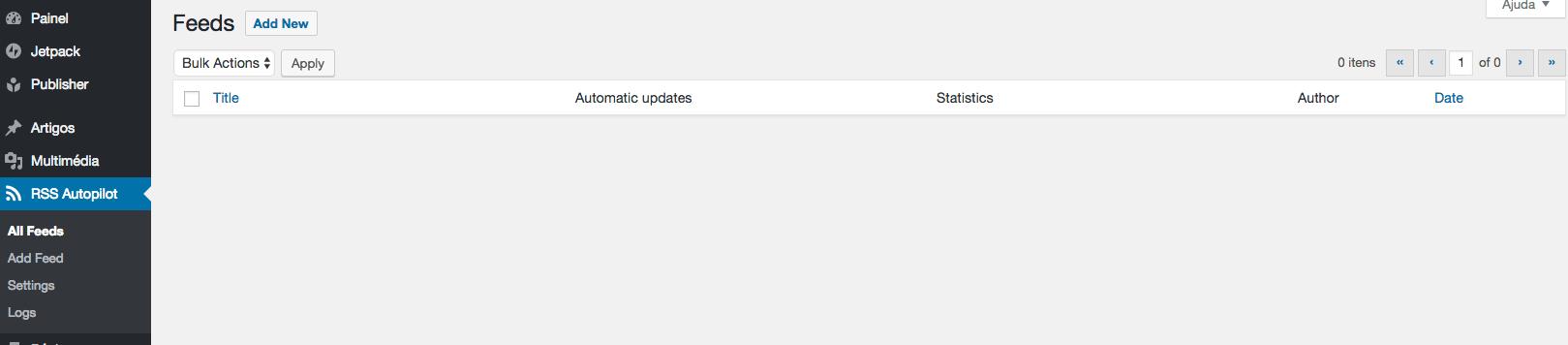 configurar selecionar-plugin-zipado