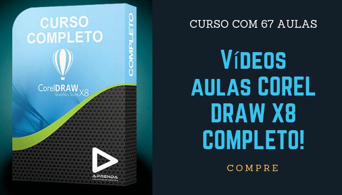 CURSO COREL DRAW X8 COMPLETO!