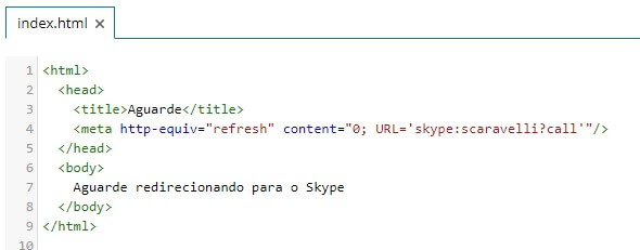 html-com-meta-refresh-redirect