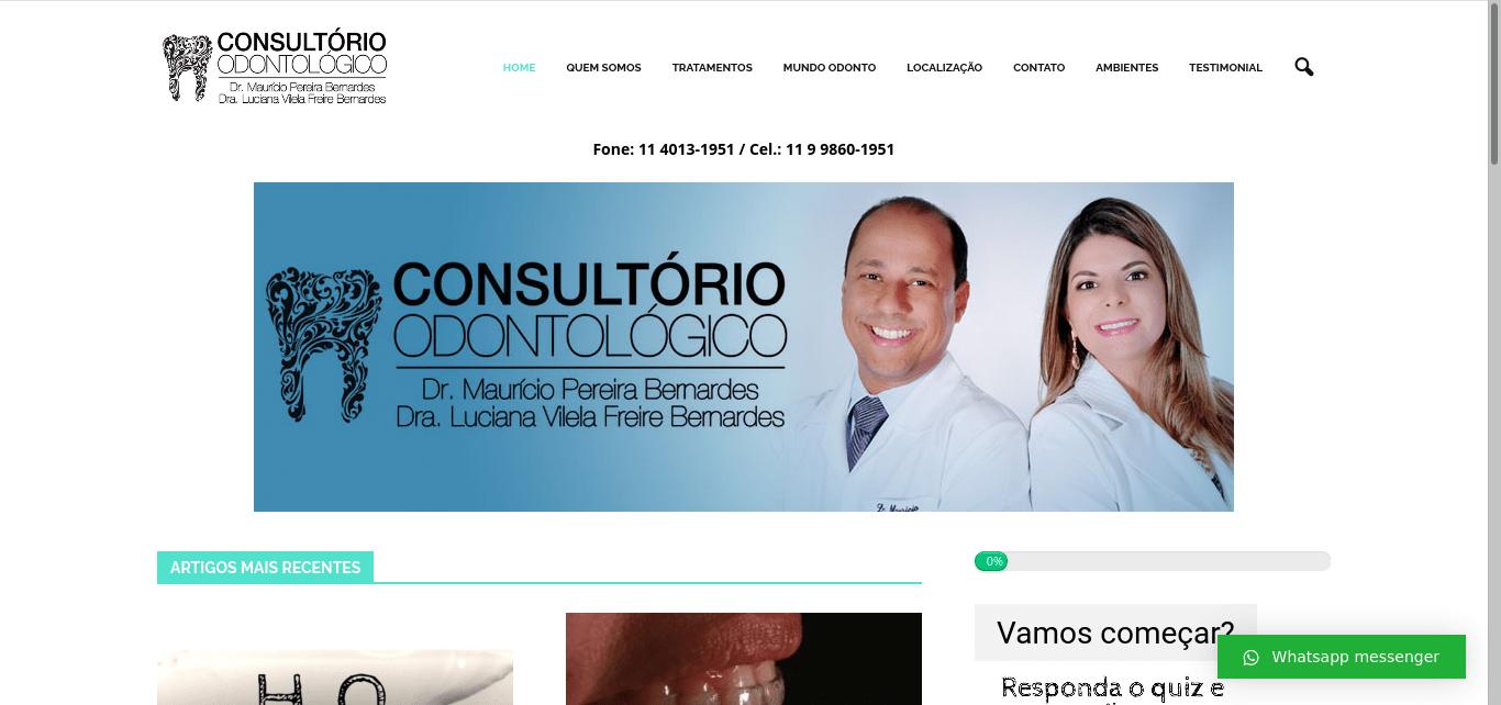 Dentistas em itu host e design elvio sites