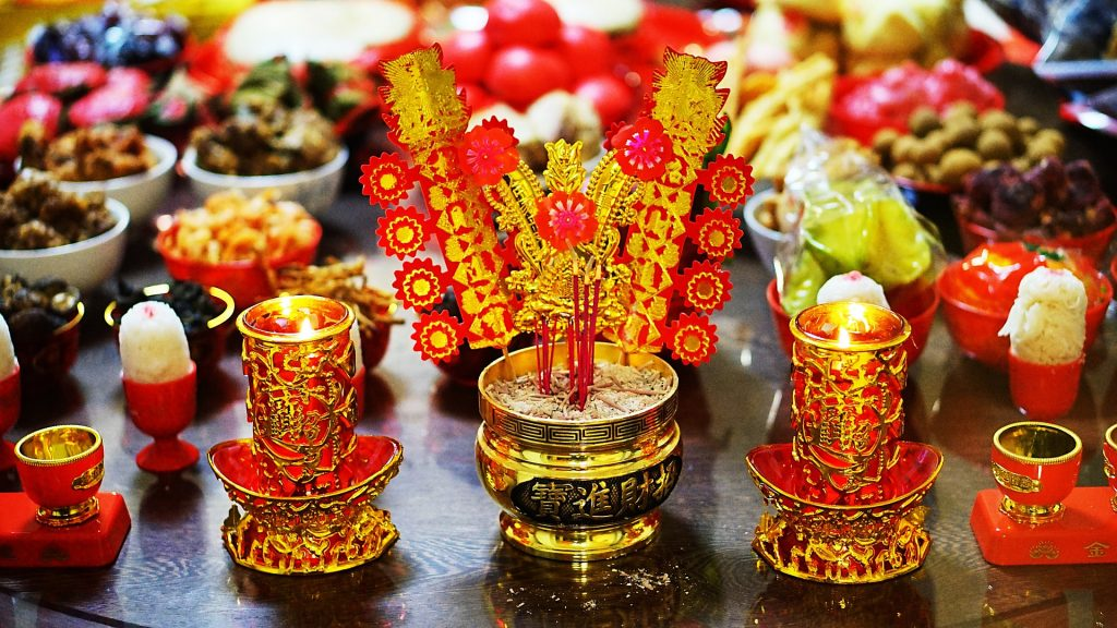 chinese new year prayer