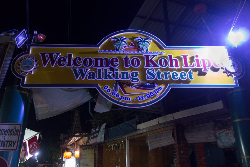 Koh Lipe Walking Street