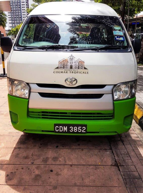 colmar tropicale shuttle bus How to go berjaya hill Colmar Tropicale