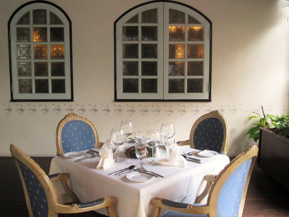 French Fine Dining Restaurant at La Cigogne colmar tropicale resort