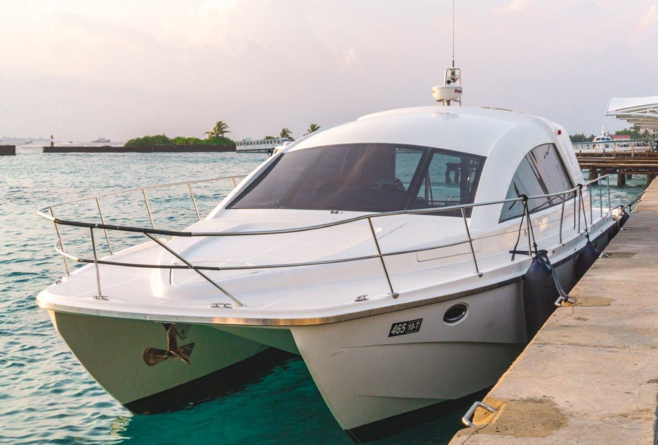 flights to maldives how to go to maldives maldives getaway speedboat from male to maafushi