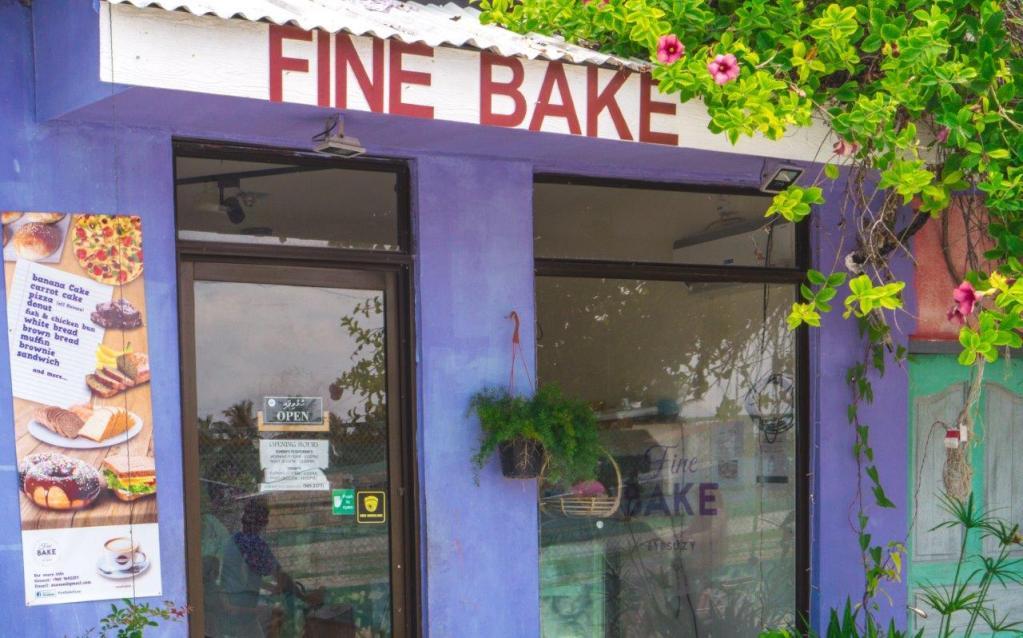 Fine Bake by Suzi maafushi island restaurants