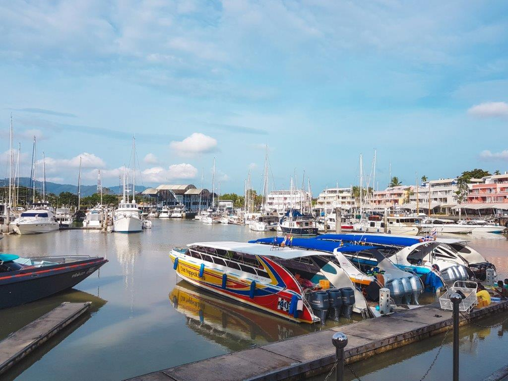 phuket to phi phi ferry, visit phi phi island