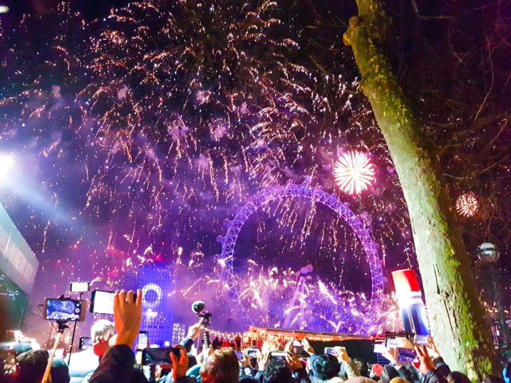 Ways to Celebrate New Year's Eve in London