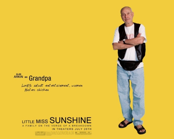 Make it fun with poster from Little Miss Sunshine featuring Alan Arkin.