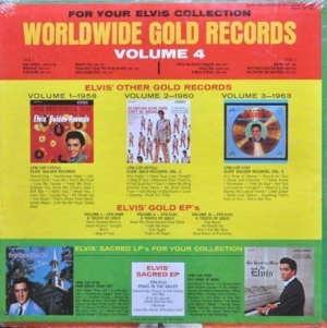Fallacies: back cover of Elvis' Gold Records Volume 4.