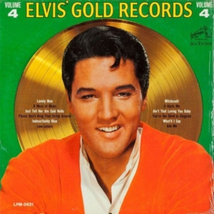 Fallacies: cover to the rare mono version of Elvis' Gold Records Volume 4 from 1968.