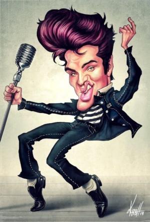 Elvis_caricature_57_Hansen