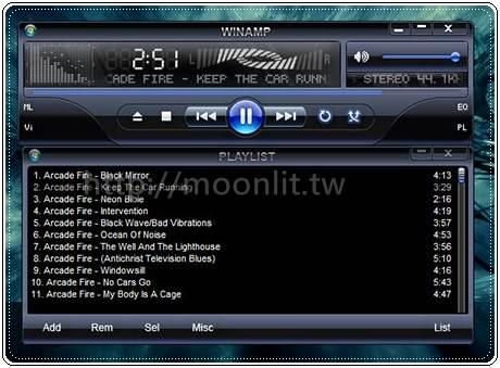 骨灰級mp3音樂播放器 winamp繁體中文版下載