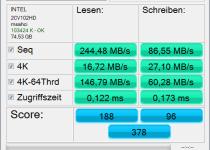 AS SSD Benchmark - SSD測速軟體 馬上知道您是否有做SSD優化