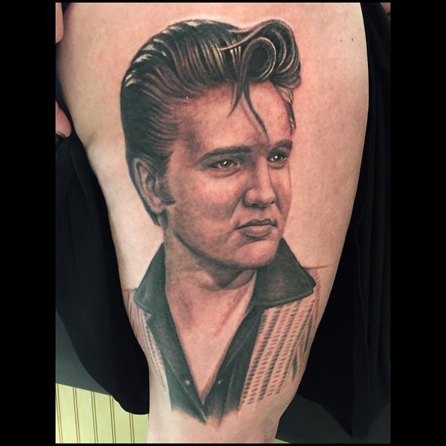 Amazing Elvis Presley Tattoos Part 2 Elvis Presley