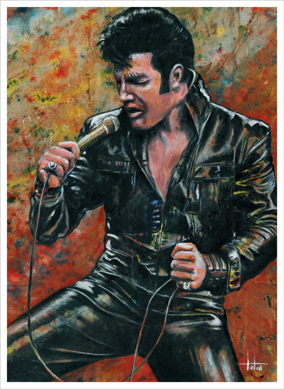 Elvis Presley Art Works 15 Amazing Paintings Elvis Presley