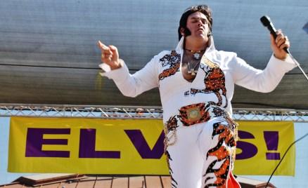 Chris Luna as Elvis