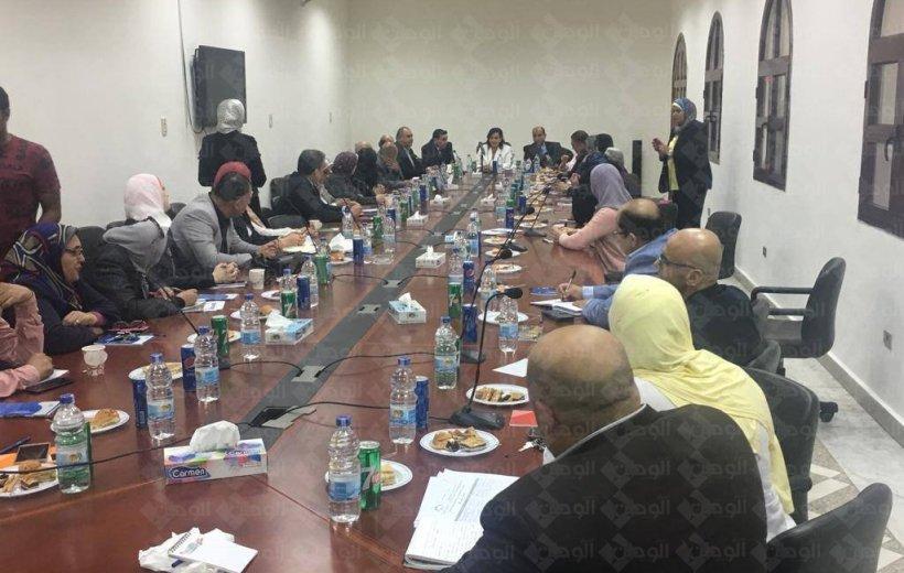 د.منى محرز نائب وزير الزراعه:-  واجبنا جميعاً حماية الثروه الحيوانيه و الحفاظ علي المنتجين و المربيين .