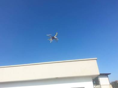 Quadcopter Test Flight at Acme Engineering College