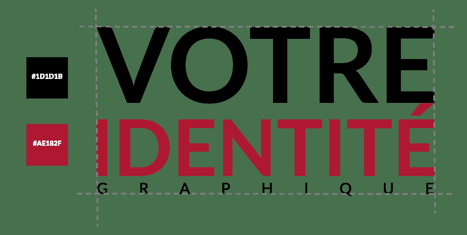 Éléments graphique, votre identité graphique