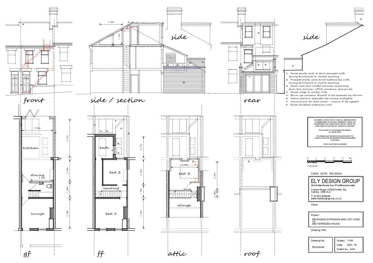 Loft Conversion Drawings