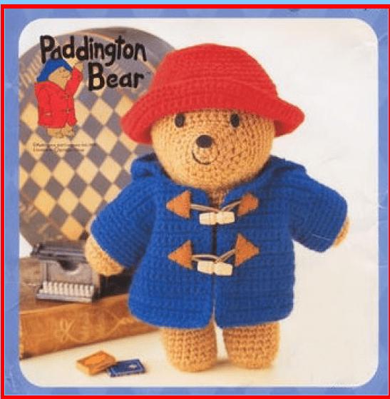 fiche ours paddington elylou crochette