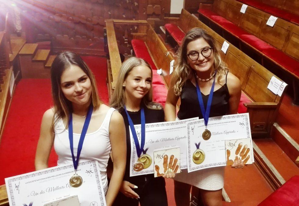 Meilleur Apprenti de France : nos étudiants diplômés