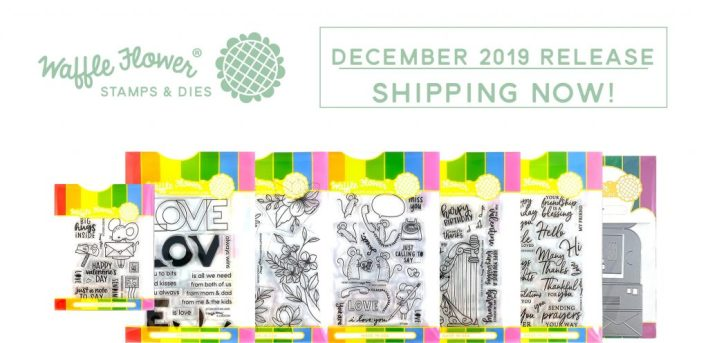 Waffle Flower December 2019 Release Graphic