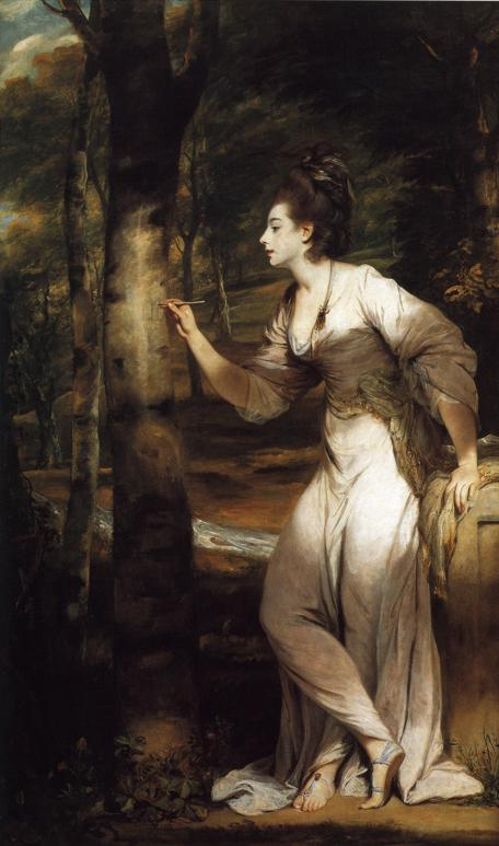 Mrs. (Richard Bennett) Lloyd by Sir Joshua Reynolds (1775-6)