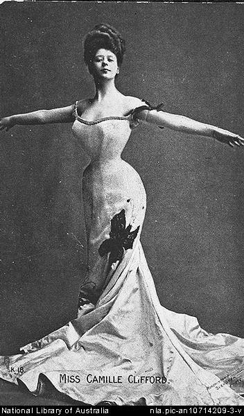 Gibson Girl by Charles Dana Gibson (1890s) (3/3)