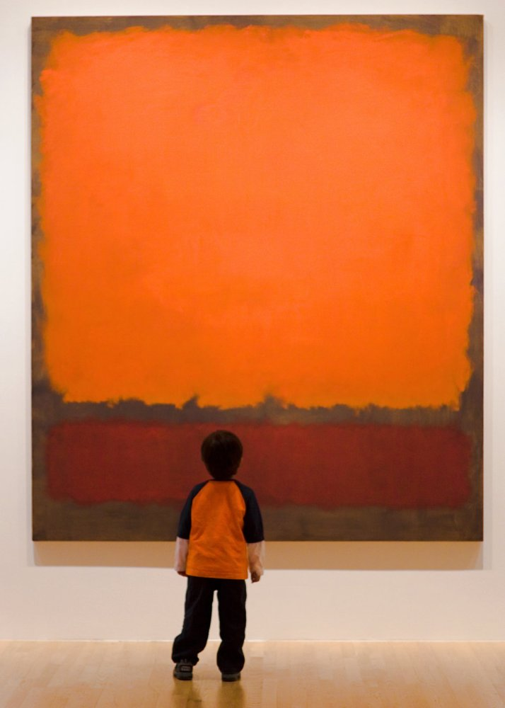 Orange Red Orange by Mark Rothko (1961-2) (3/3)