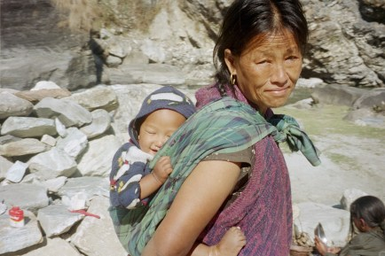Nepalese-woman-with-baby