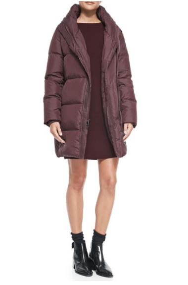 Vince Shawl-Collar Puffer Coat
