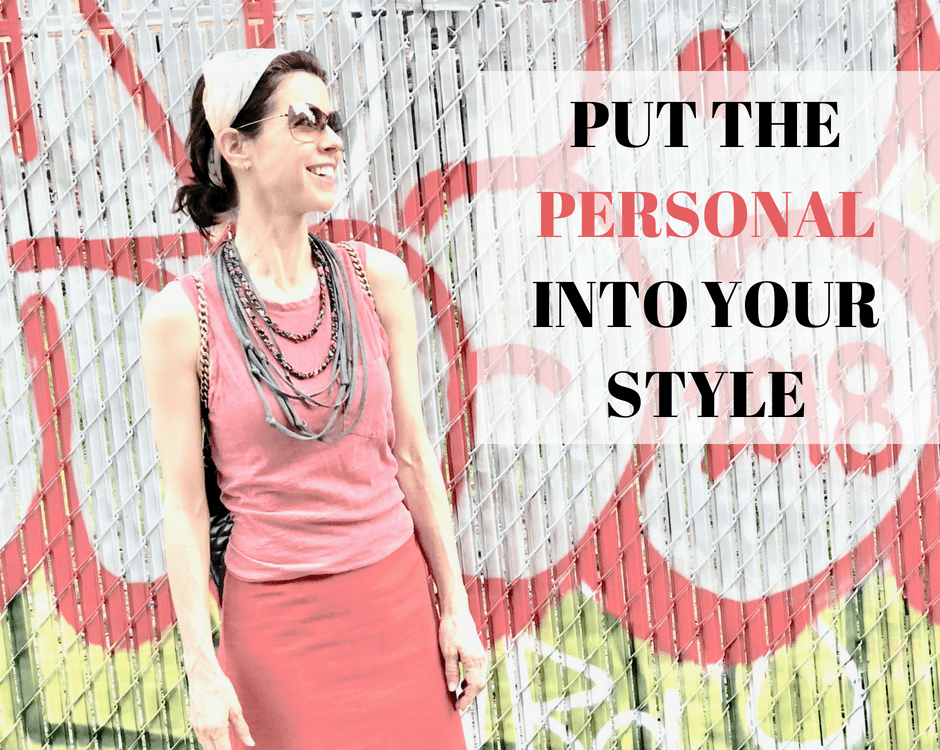 To make your personal style great, you must define what great looks like to you. And in order to make this declaration you must be very clear about who you are and what you love. That's why having a strong sense of self is an integral component of personal style. Read more on enhancing your style