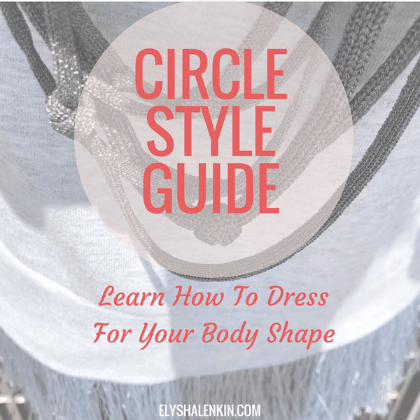 You have a circle or apple shaped body if you have a wide torso, slim limbs and full bust. Your shoulders tend to be round and sloping and your biggest complaint may be that you have a thick waist with no real definition. Read on to find out what to wear that flatters you best!
