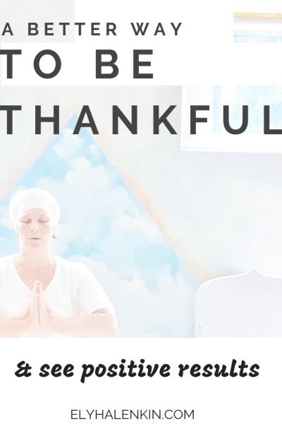 You already know that gratitude is an easy way to improve your life, but did you know there's a better way of being thankful? Read on to learn how!