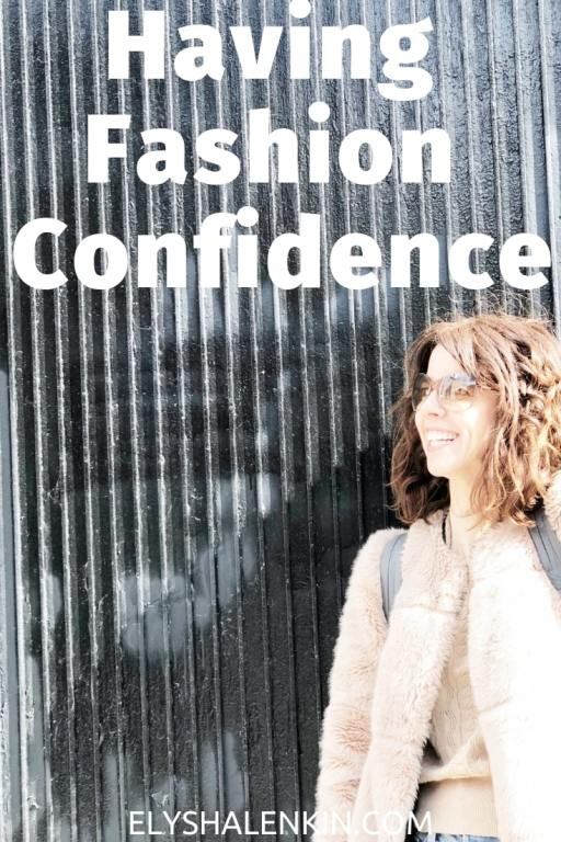 """Back in the 90s - when I got into the fashion industry - people didn't know what the job """"stylist"""" was. I'd always have to explain that I shop for a living which made it sound cool and glamorous - which it was sometimes. But mostly I just suffered severe blows to my self confidence. Here's how working in this industry messed with my self esteem, and how I got my confidence back. I think you'll be surprised at what I share!"""